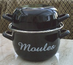 Pan for Moules Marinieres