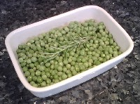 Peas with Rosemary