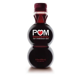 Bottle of Pomegranate Juice